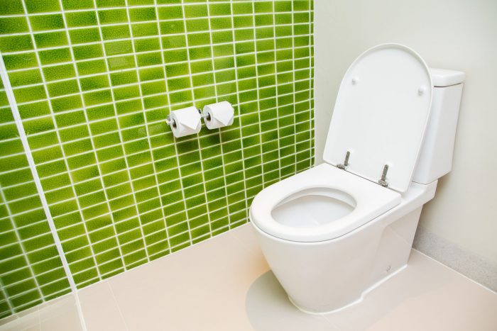 how to clean a toilet