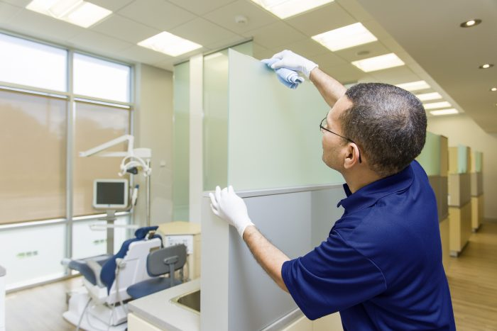 how often should medical offices be cleaned